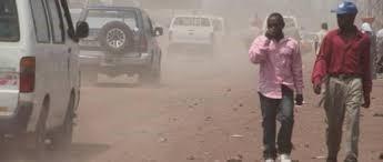 Goma, la poussière rend les habitants malade